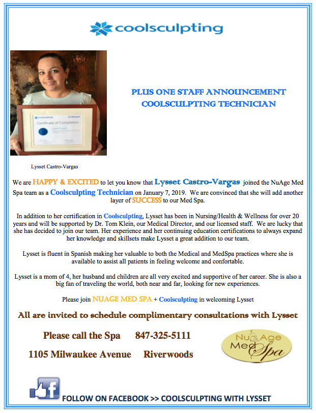 Coolsculpting | Nu Age Medical Spa